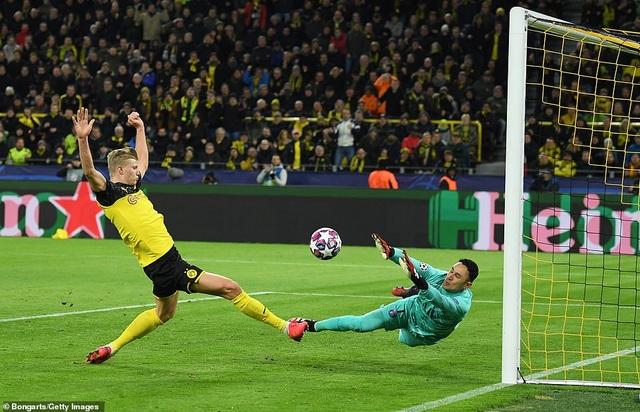 Haaland che mờ Neymar, Dortmund quật ngã PSG - 2