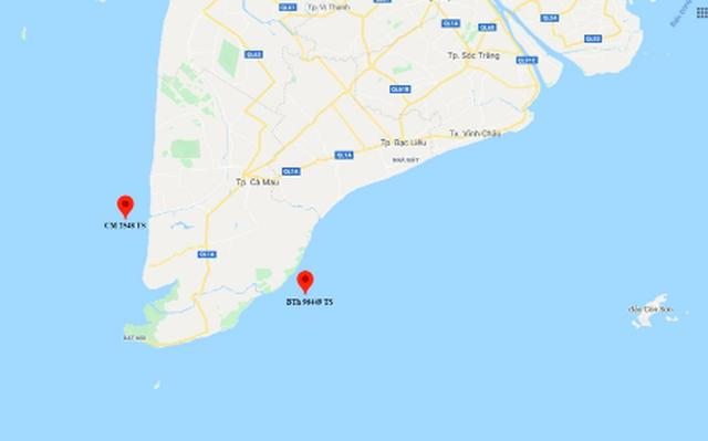 Hai tàu cá chìm trên biển, nhiều ngư dân mất tích - 1