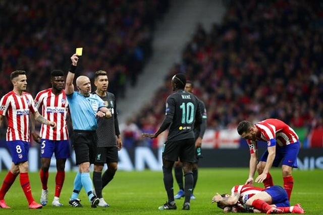 Atletico Madrid 1-0 Liverpool: Bàn thắng duy nhất của Saul - 7