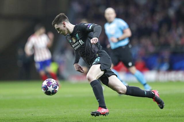 Atletico Madrid 1-0 Liverpool: Bàn thắng duy nhất của Saul - 4