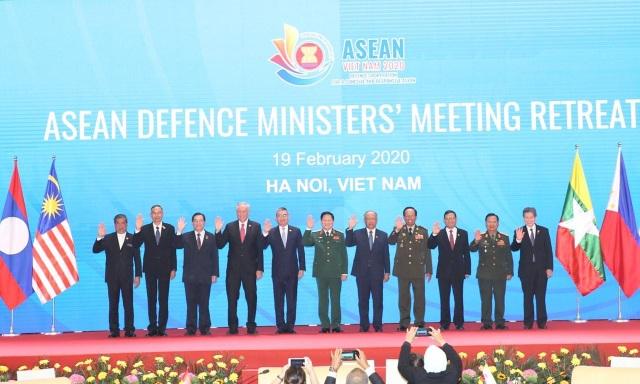 Khai mạc Hội nghị hẹp Bộ trưởng Quốc phòng các nước ASEAN 2020 - 2
