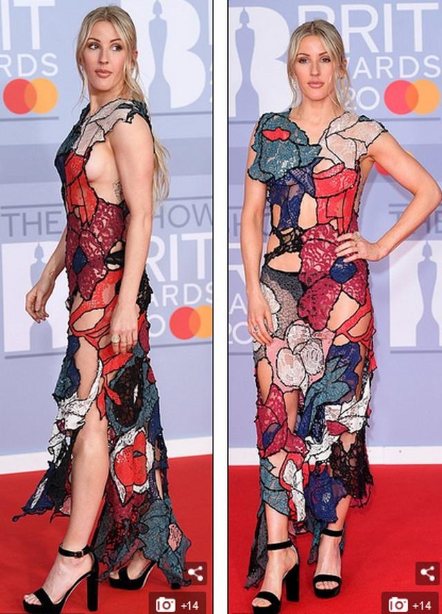 Ellie Goulding lấp ló vòng một gợi cảm - 6