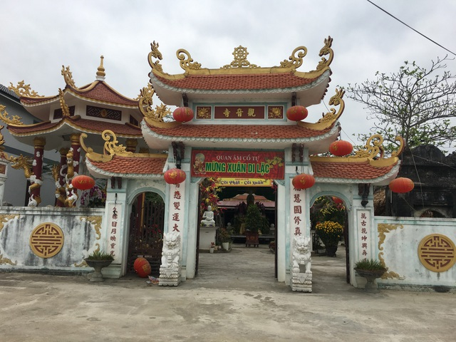 Trại giết mổ tập trung bị phản ứng vì quy hoạch gần chùa cổ tại Quảng Bình - 2