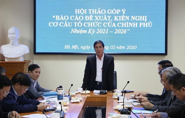 Đề xuất bộ máy Chính phủ giảm xuống còn 20 bộ, giảm Phó Thủ tướng - 1