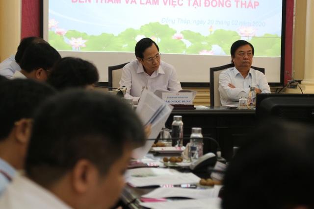 Bộ trưởng Đào Ngọc Dung: Đồng Tháp nên coi nguồn nhân lực là khâu đột phá - 3