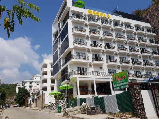 Biệt thự xây sai quy hoạch tại dự án Ocean View Nha Trang đã hoàn thiện - 1