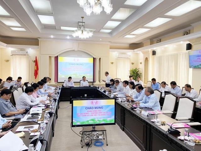 Bộ trưởng Đào Ngọc Dung: Đồng Tháp nên coi nguồn nhân lực là khâu đột phá - 2