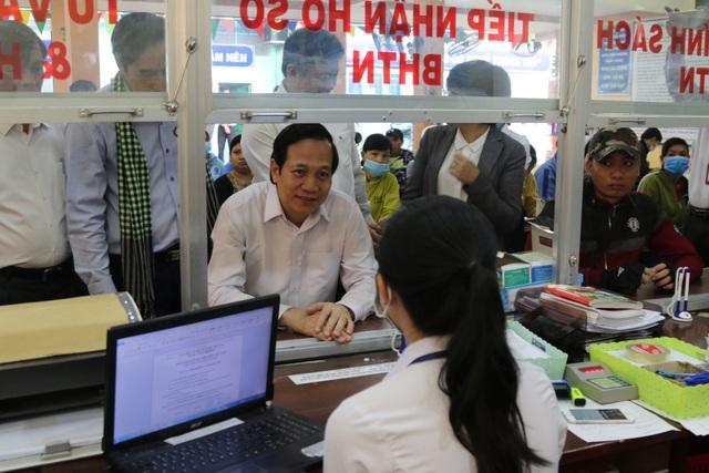 Bộ trưởng Đào Ngọc Dung: Đồng Tháp nên coi nguồn nhân lực là khâu đột phá - 4