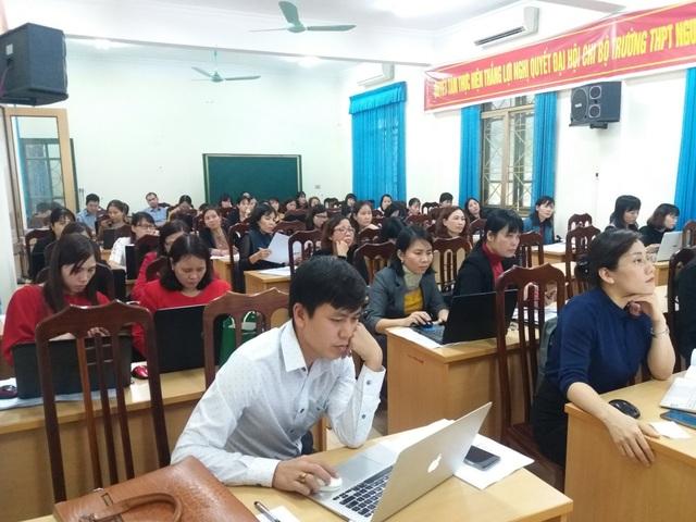 Trường học Ninh Bình đẩy mạnh dạy và học trực tuyến dịp nghỉ phòng dịch Covid-19 - 4