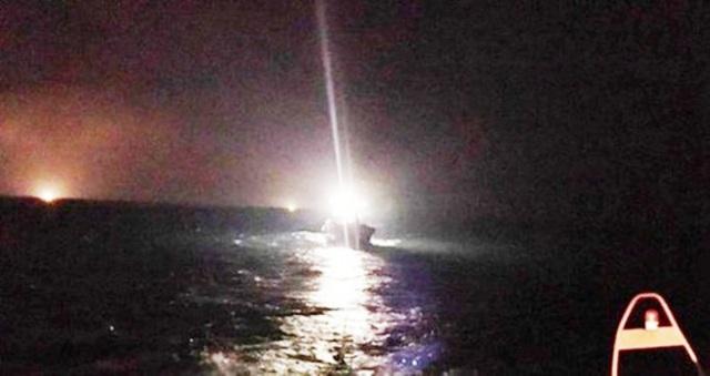 Nửa đêm phát hiện thuyền viên mất tích trên biển - 1