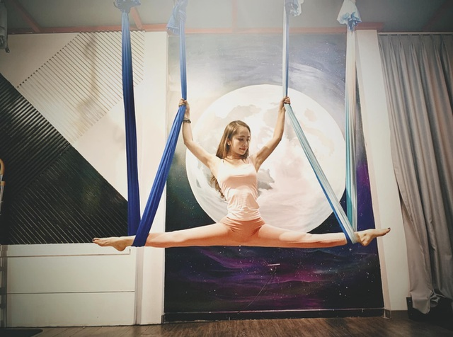 Aerial Yoga bộ môn của những cô nàng yêu cái đẹp - 3