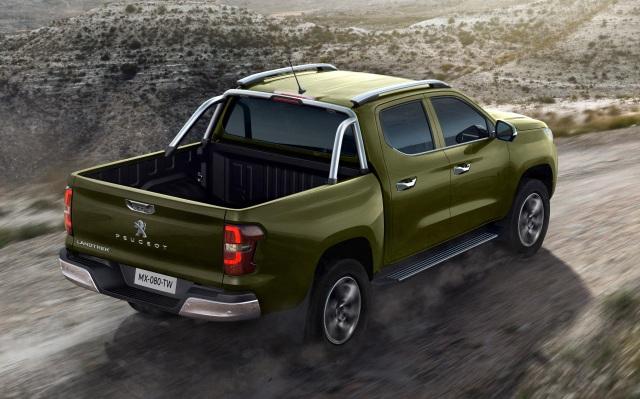 Bán tải Peugeot Landtrek sẽ dùng động cơ của cả Isuzu và Mitsubishi - 2