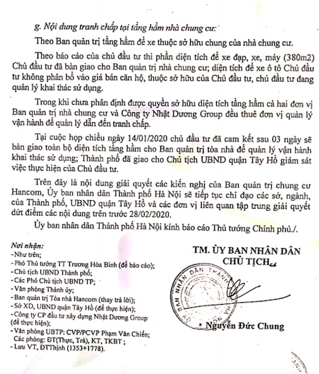 Hà Nội báo cáo Thủ tướng hàng loạt sai phạm nóng bỏng tại chung cư Hancom - 6