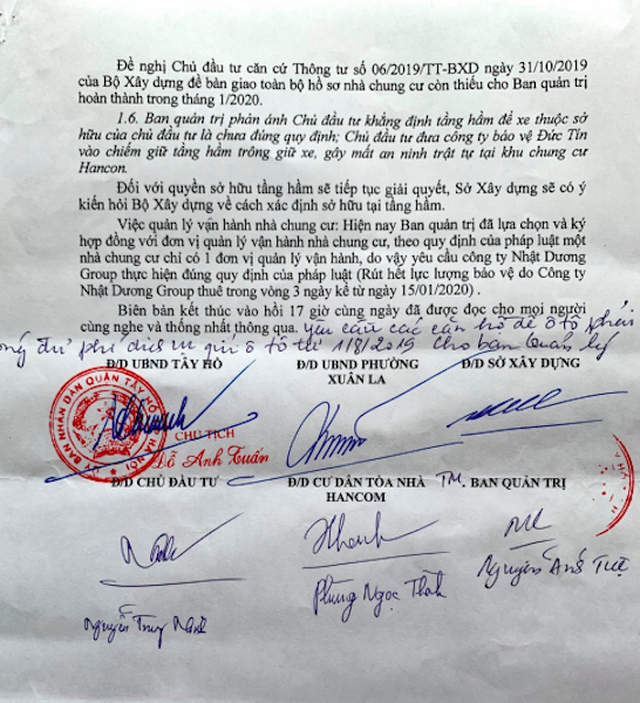 Hà Nội báo cáo Thủ tướng hàng loạt sai phạm nóng bỏng tại chung cư Hancom - 4