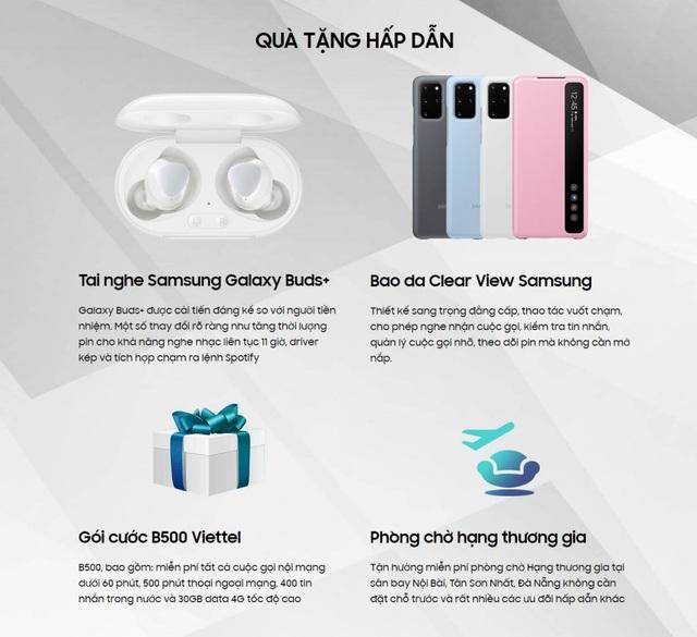 Đặt trước Samsung Galaxy S20 series tại Viettel Store nhận ngay ưu đãi lớn - 2