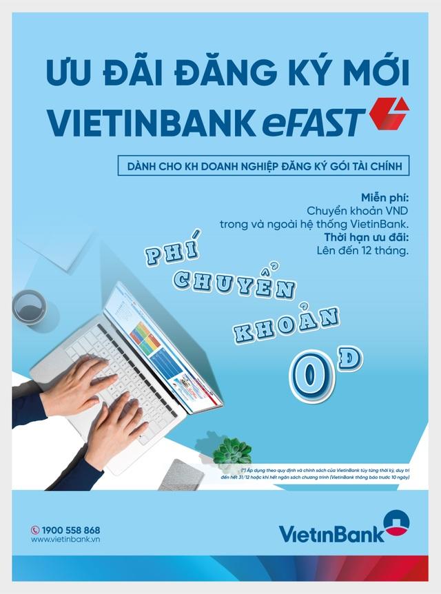 VietinBank miễn nhiều loại phí cho doanh nghiệp dùng ngân hàng điện tử - 1