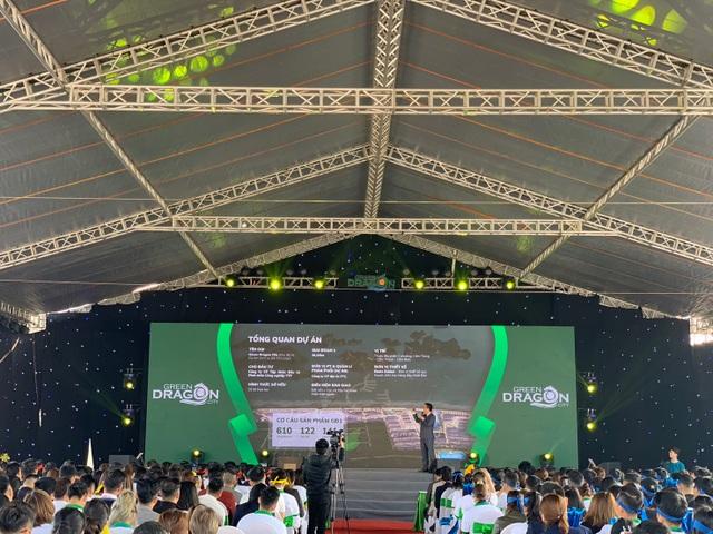 """Tưng bừng khí thế  """"Chiến binh rồng xanh"""" cùng lễ Kick -off dự án Green Dragon City - 2"""