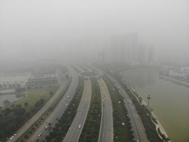 """Chất lượng không khí diễn biến xấu: Hà Nội """"đứng đầu"""" - 2"""