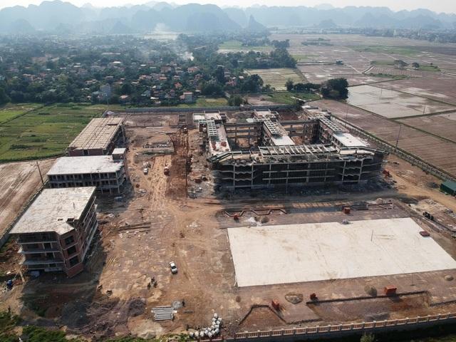 Ninh Bình: Dự án trường chuyên 400 tỷ đồng phát lộ nhiều sai phạm - 1