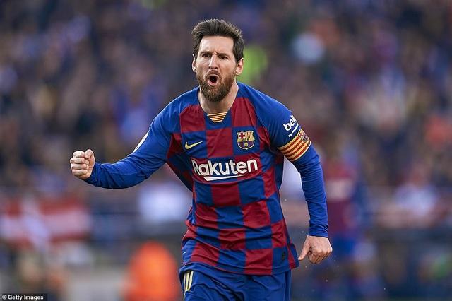 Messi ghi 4 bàn, Barcelona thắng đậm Eibar và giành ngôi đầu bảng - 12