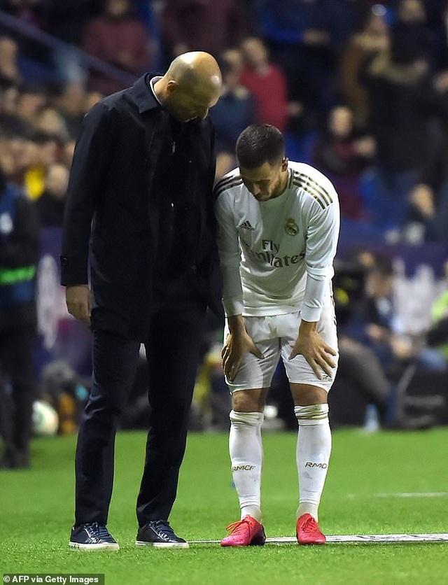 Thua sốc Levante, Real Madrid mất ngôi đầu bảng - 5