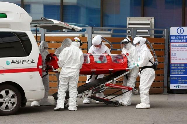 Hàn Quốc: 556 người nhiễm virus corona, 4 người tử vong - 1
