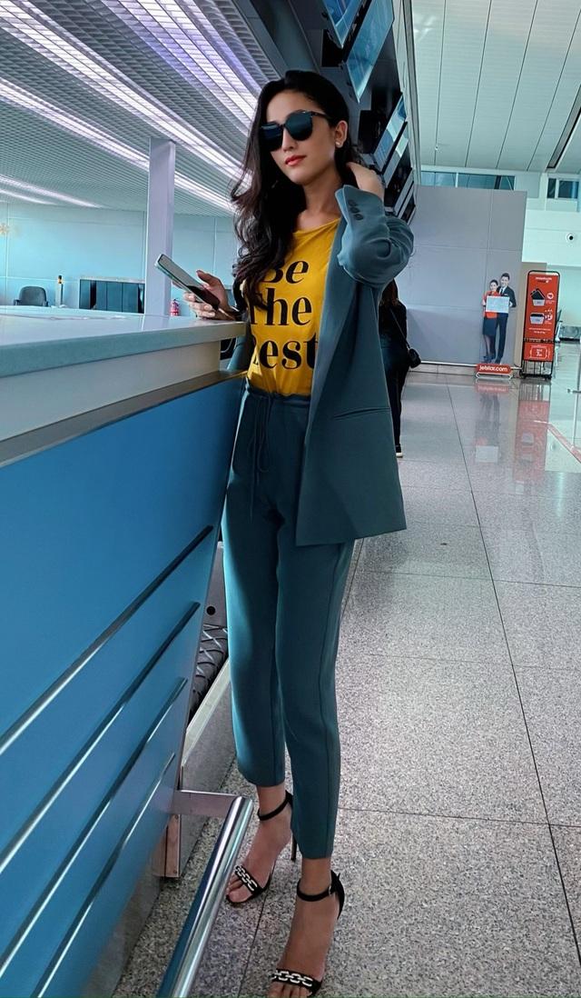 Bạn gái Trọng Hiếu lên đường thi Hoa hậu Chuyển giới Quốc tế - 2