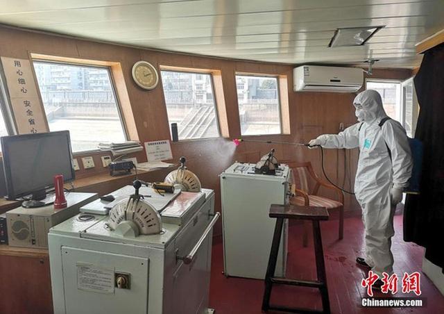 Du thuyền hạng sang làm nơi ở cho các y bác sỹ tuyến đầu chống Covid-19 - 6