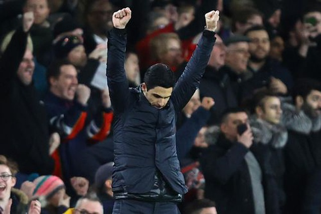 Những khoảnh khắc trong màn ngược dòng của Arsenal trước Everton - 16