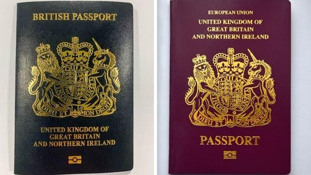Anh chính thức đổi màu hộ chiếu sau khi rời EU - 2