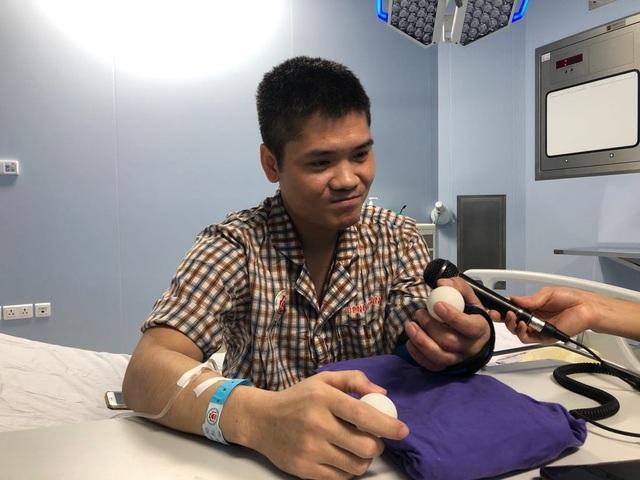 Đầu tiên trên thế giới: Việt Nam thành công ghép chi thể từ người cho sống - 4