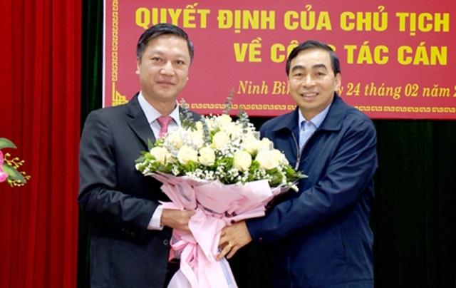 Ninh Bình bổ nhiệm Giám đốc Sở Nội vụ và Sở Kế hoạch và Đầu tư - 2