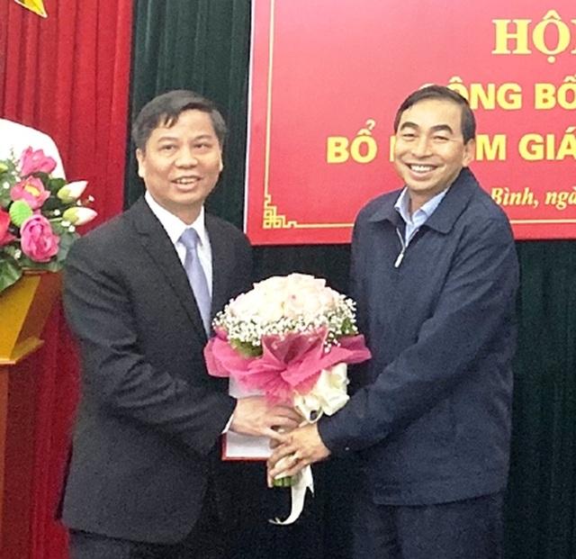 Ninh Bình bổ nhiệm Giám đốc Sở Nội vụ và Sở Kế hoạch và Đầu tư - 1