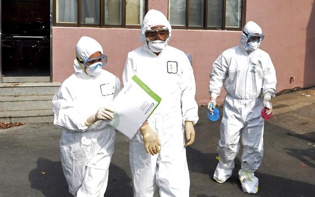 Số người nhiễm corona ở Hàn Quốc tăng mạnh nhất từ trước đến nay, lên 1.595