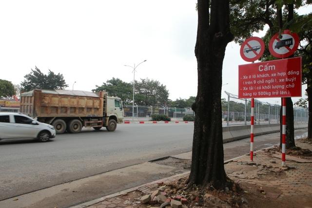 Bất chấp lệnh cấm nhiều xe tải hạng nặng vẫn ngạo nghễ vào đường đua F1 - 2