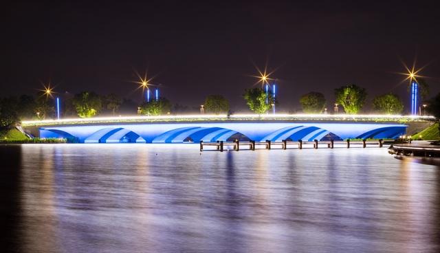 Cận cảnh những cây cầu đẹp lung linh tại thành phố xanh ngay gần Hà Nội - 9