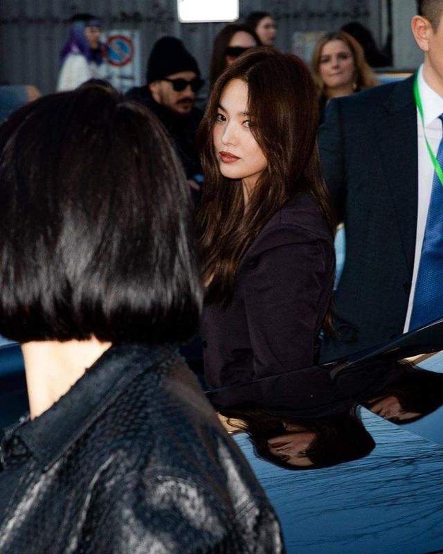Song Hye Kyo xinh đẹp tại tuần lễ thời trang Milan - 7