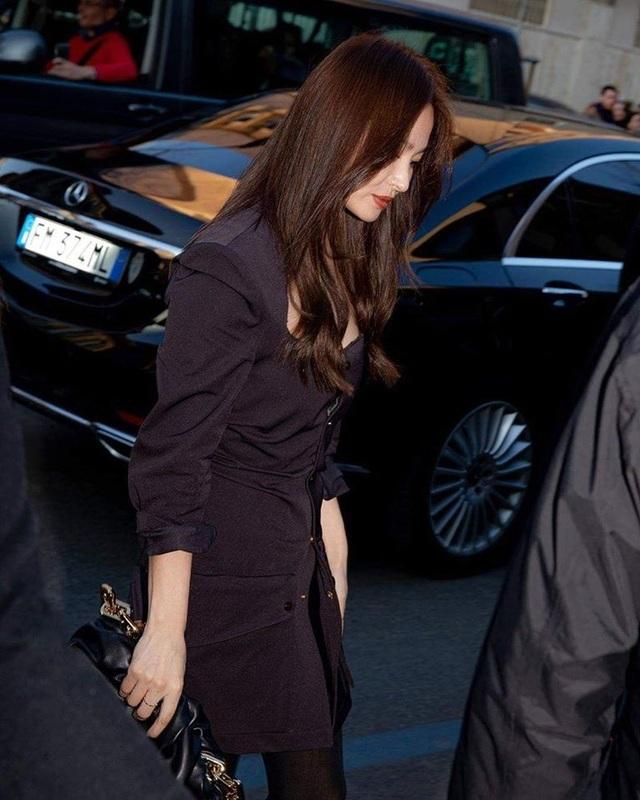Song Hye Kyo xinh đẹp tại tuần lễ thời trang Milan - 6
