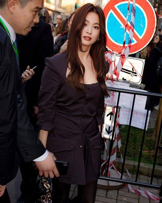 Song Hye Kyo xinh đẹp tại tuần lễ thời trang Milan - 5