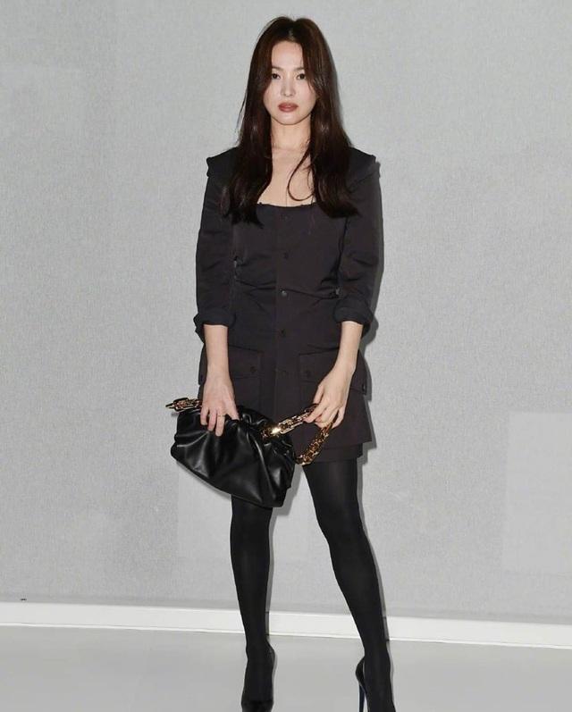 Song Hye Kyo xinh đẹp tại tuần lễ thời trang Milan - 3