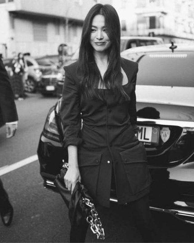 Song Hye Kyo xinh đẹp tại tuần lễ thời trang Milan - 11
