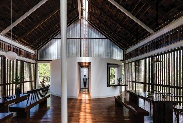 Ngôi nhà cấp 4 ở Đắk Lắk đẹp như resort nhờ thiết kế độc lạ - 4