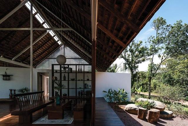 Ngôi nhà cấp 4 ở Đắk Lắk đẹp như resort nhờ thiết kế độc lạ - 5