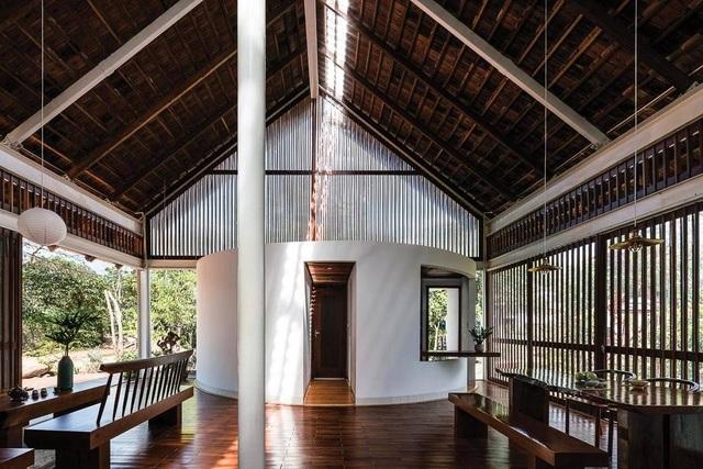 Ngôi nhà cấp 4 ở Đắk Lắk đẹp như resort nhờ thiết kế độc lạ - 8