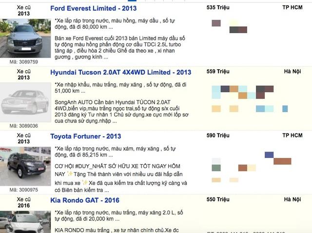 Giải cứu xe mùa dịch Covid-19: Nhiều loại 7 chỗ chỉ bán dưới 600 triệu đồng - 8