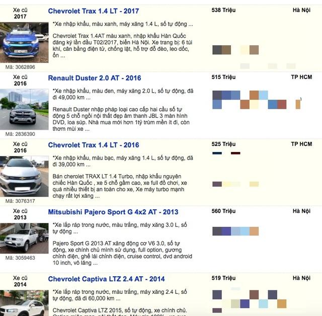 Giải cứu xe mùa dịch Covid-19: Nhiều loại 7 chỗ chỉ bán dưới 600 triệu đồng - 10
