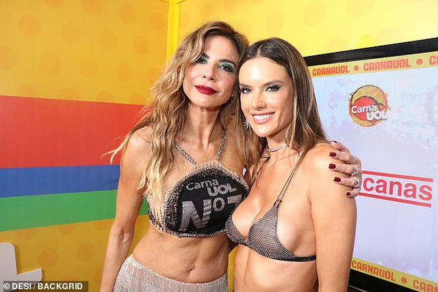 Alessandra Ambrosio bốc lửa dự lễ hội carnival ở Brazil - 4