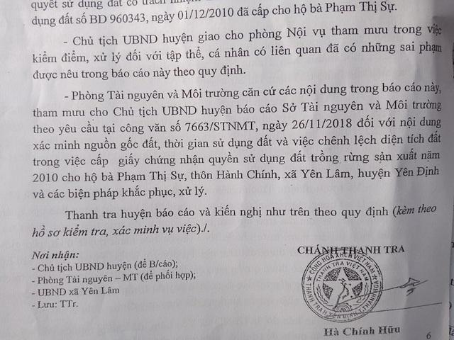 """Thanh Hóa: Cấp đất trái luật cho vợ chủ tịch xã, nhiều cán bộ vẫn """"vô can""""! - 2"""