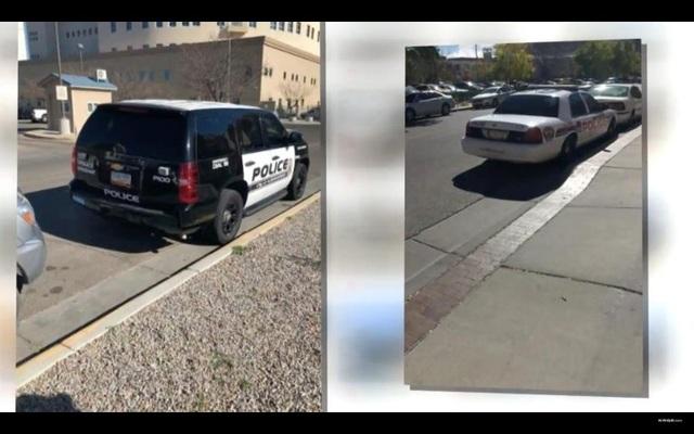 Chụp ảnh hàng trăm ảnh xe cảnh sát đỗ xe sai luật để... đòi lại công bằng - 2