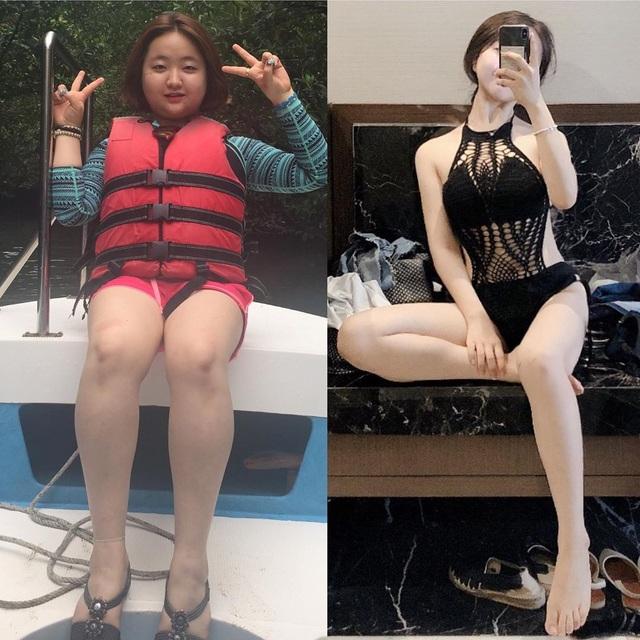 Cô gái Hàn bị bạn trai đá vì béo, giảm cân ngoạn mục xinh như thiên thần - 4